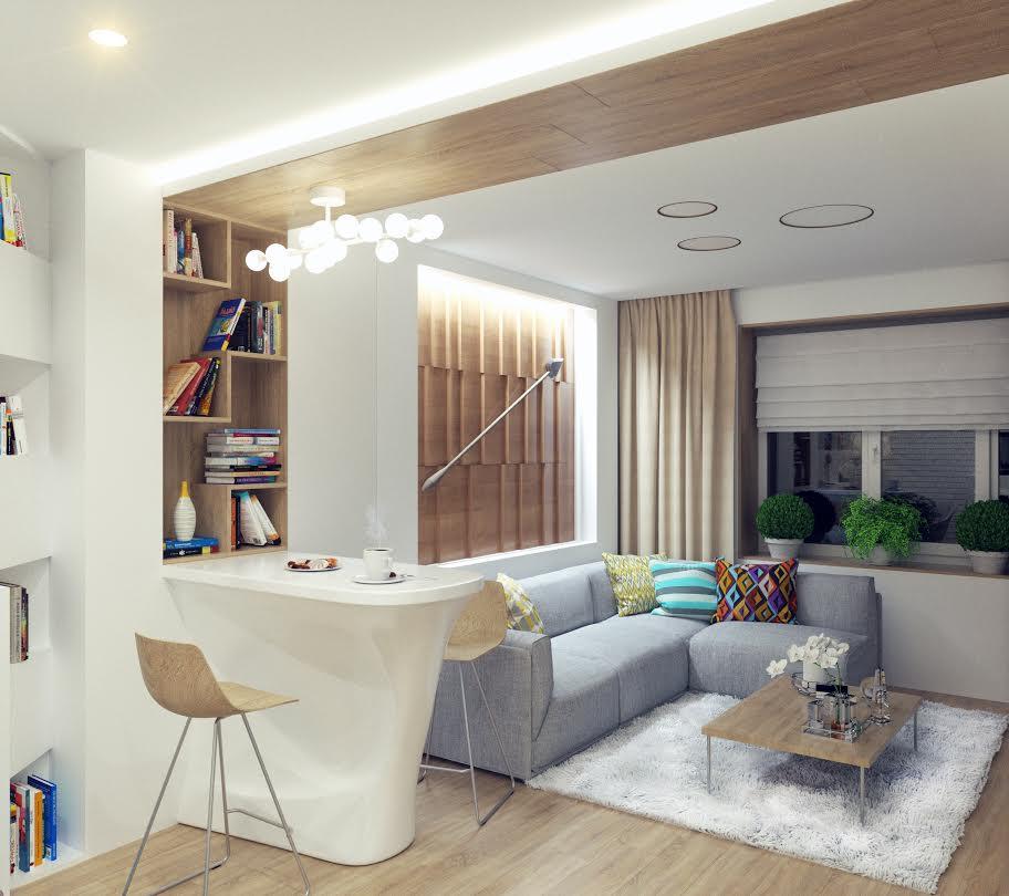 Зонирование гостиной: удачные идеи оформления. полезные советы по распределению пространства комнаты