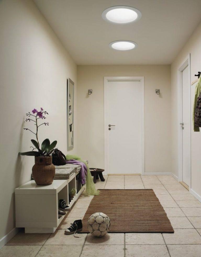 Освещение в коридоре - какие светильники лучше, стили и коррекция