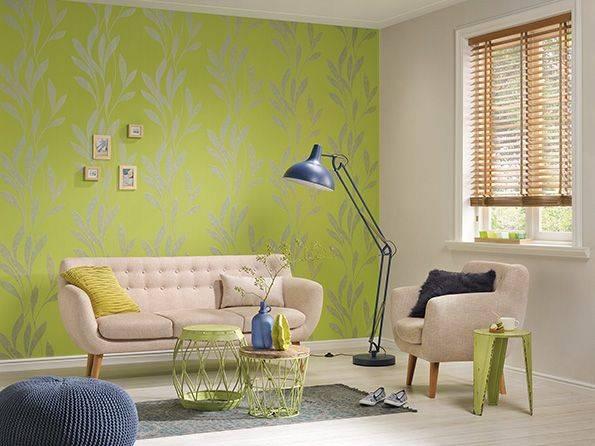 Как выбрать подходящую краску для флизелиновых обоев?