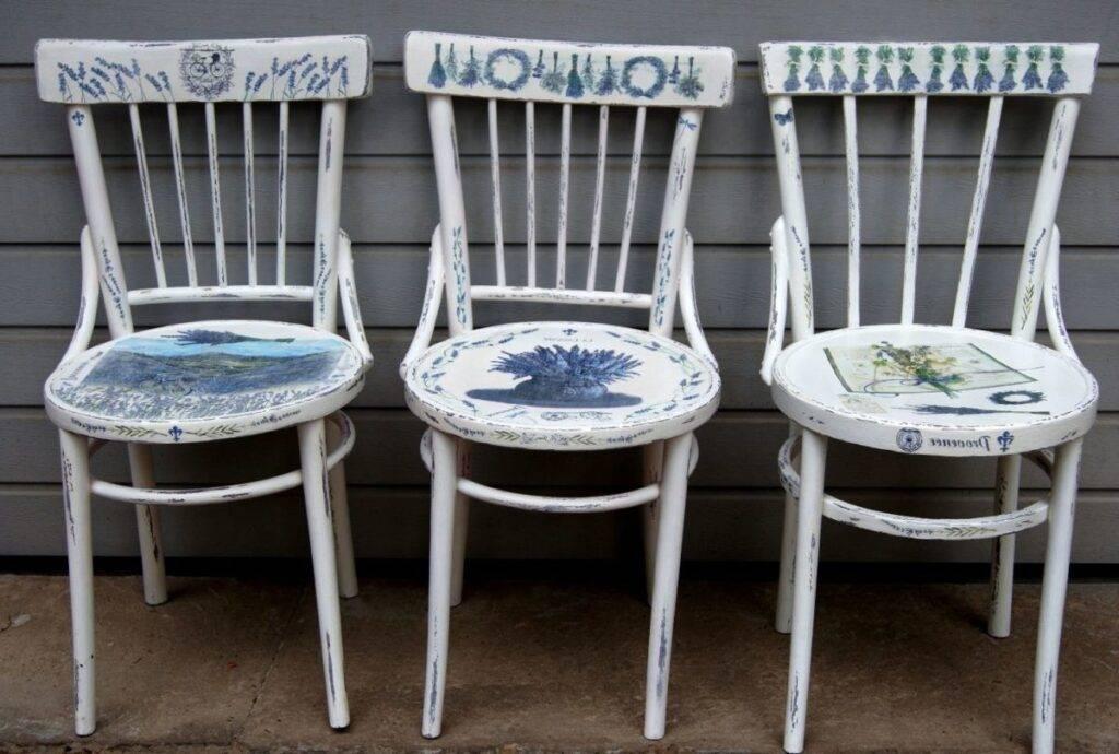 Декор для мебели - пошаговое описание креативных вариантов оформления