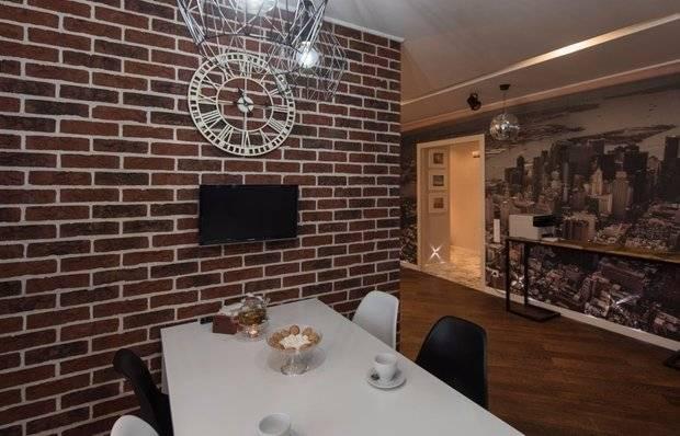 Как декорировать стену под кирпич своими руками? - блог о строительстве