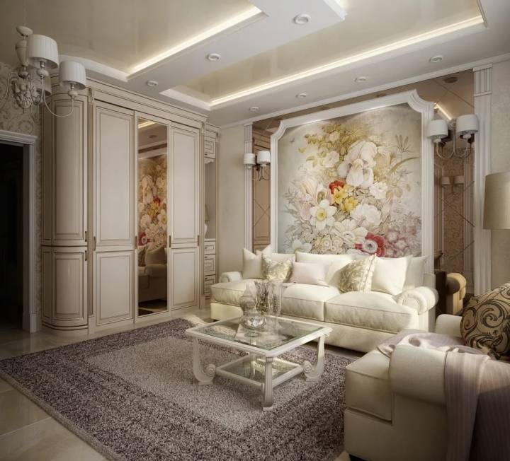 Классическая гостиная — варианты создания, нюансы оформления и секреты красивого исполнения гостиной (105 фото + видео)
