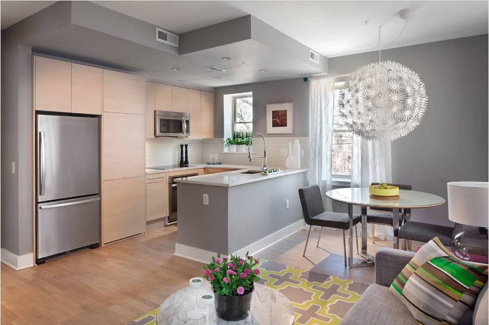 Кухня 17 кв. м. - 120 фото лучших идей зонирования планировки и дизайна
