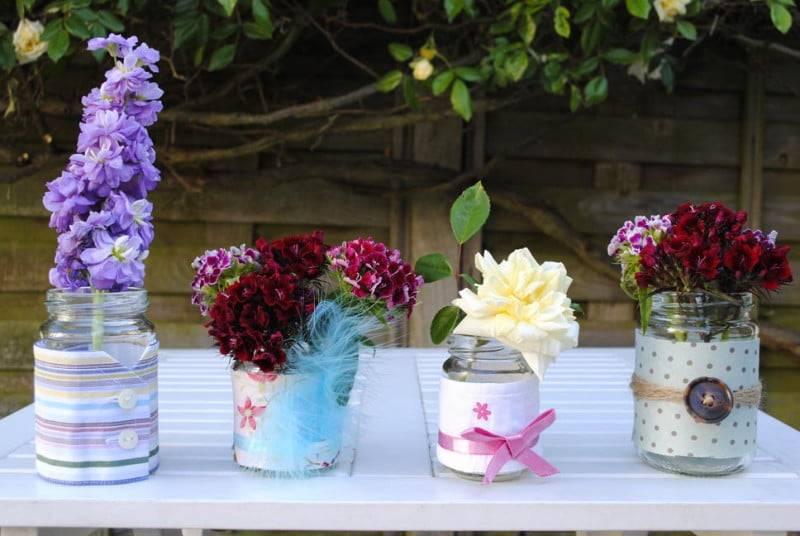 Декор вазы своими руками - 115 фото реальных идей как украсить вазу для дизайна интерьера