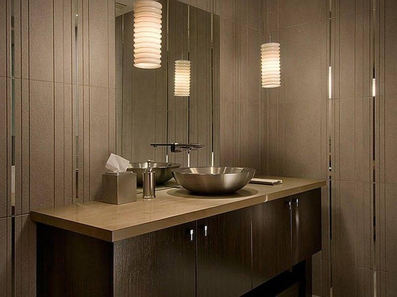 Как расположить светильники в ванной: все про правильное размещение света