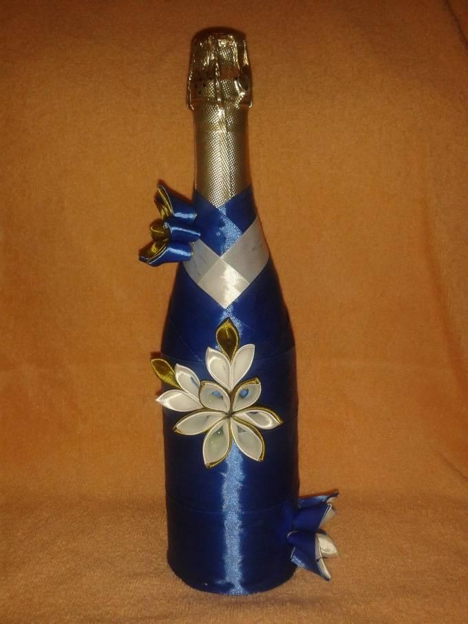 Красивый декор бутылок своими руками - мастер-класс оформления и тематического украшения бутылок