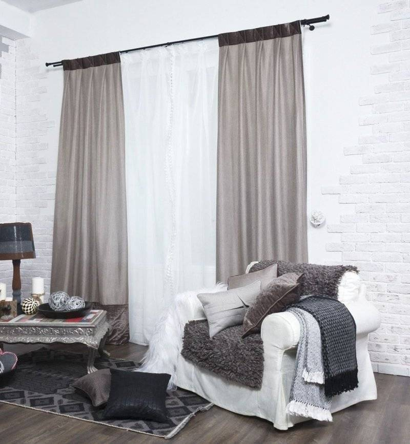 Какие шторы подойдут к обоям и мебели разных цветов: полный гид с фото