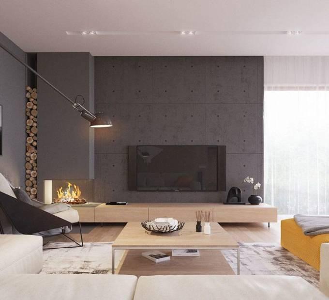 Гостиная в стиле минимализм (125 фото идей дизайна): реальные примеры красивых интерьеров