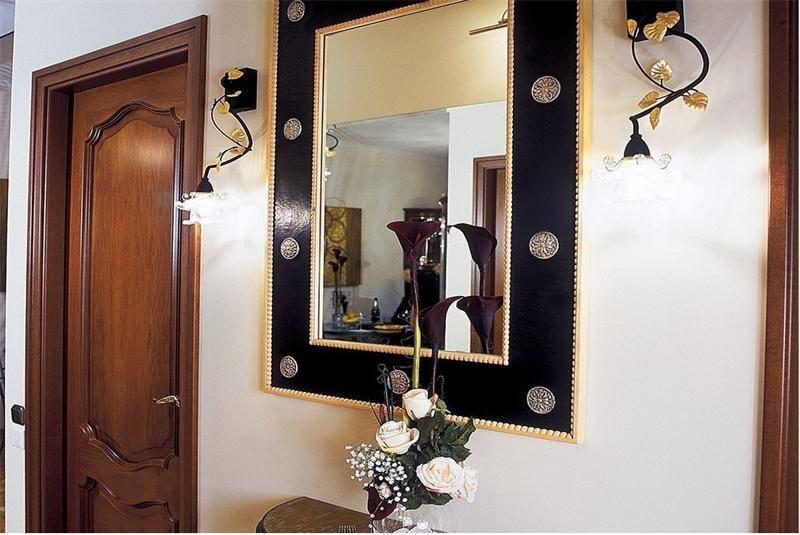 Зеркало в прихожую: виды, формы, размеры и правила расположения для увеличения пространства (85 фото)