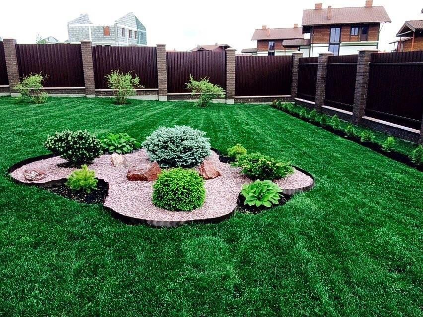 Как оформить газон на даче: разновидности ландшафтных решений, уход + 45 фото