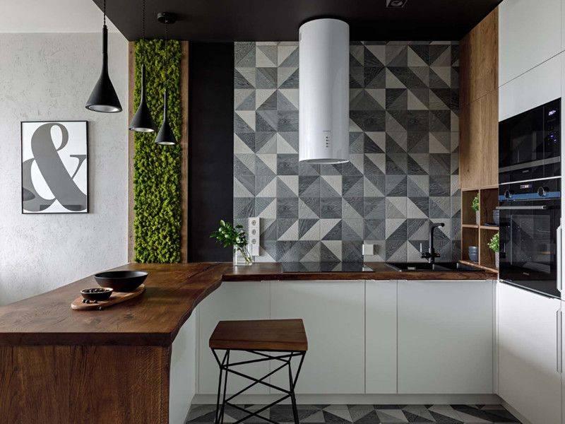 Обои для кухни - современные идеи (77 фото): модный дизайн 2020