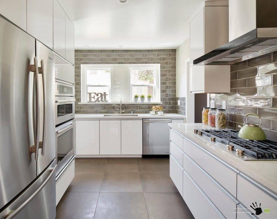 Кафель для кухни: советы по выбору материала и готовые идеи дизайна (40 фото) | современные и модные кухни