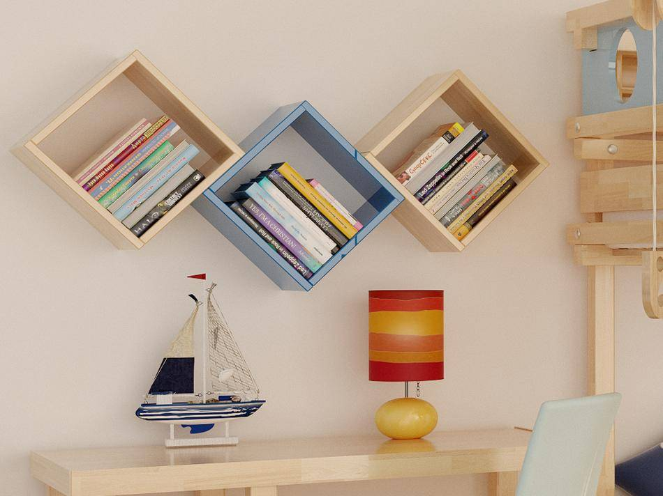 Полки на стену в комнате: 230+ (фото) красивых подборок & идей
