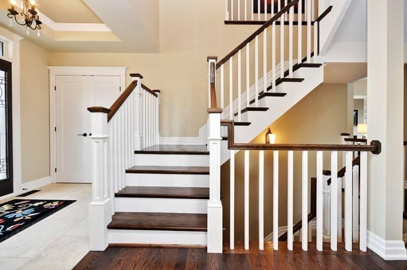 Металлические перила и ограждения для лестниц в частном доме, варианты, идеи дизайна, фото