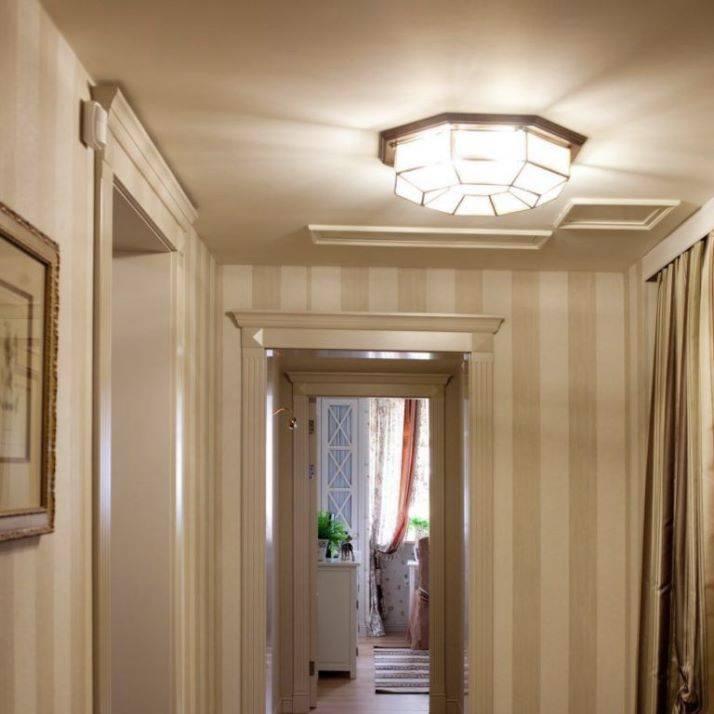 Освещение в прихожей разной формы, виды и варианты подсветки коридора — идеи дизайна с фото - 21 фото