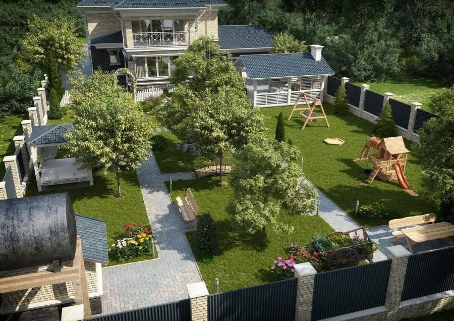 Планировка дачного участка: основные принципы и особенности стилей, тонкости зонирования