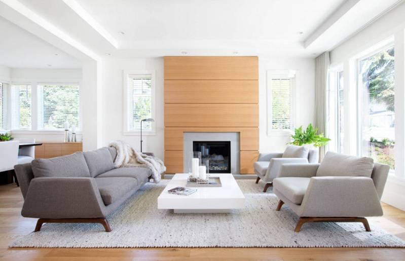 Интерьер деревянного дома - выбор отделочных материалов для стен, потолка и пола, подбор мебели и освещения. особенности стилистик и цветовых решений (фото + видео)