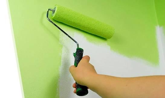 Покраска стен водоэмульсионной краской: особенности и правила - строительство и ремонт