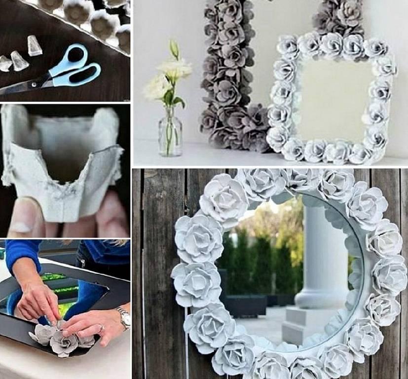 Круглое зеркало в декоре дома – замкнутость форм (24 фото)