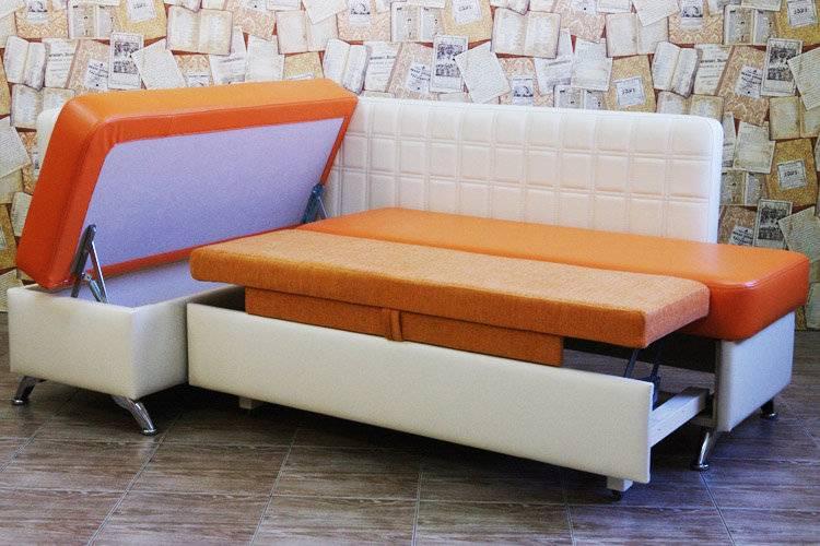 Маленький диван на кухню со спальным местом на 57 фото