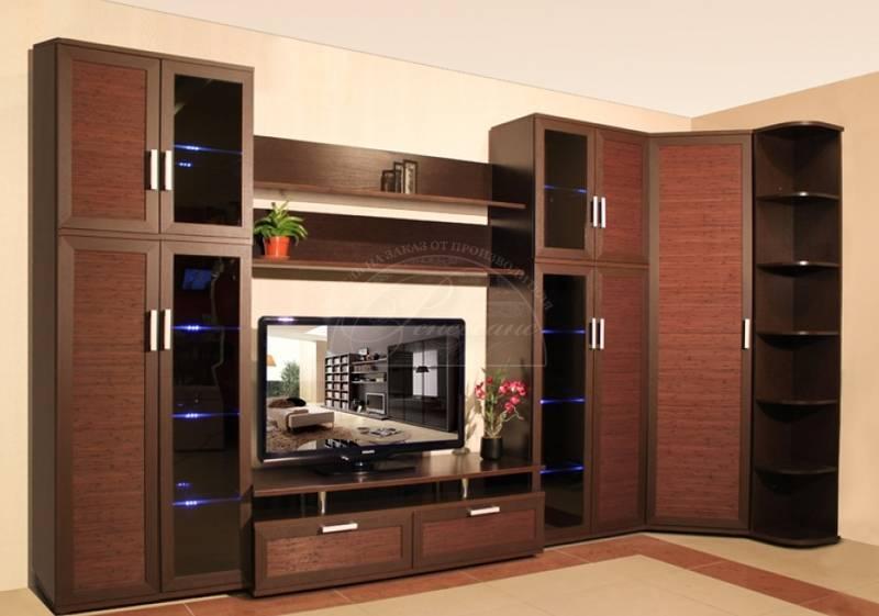 Стенка в гостиную: рекомендации по выбору. обзор свежих новинок с необычным дизайном (135 фото)