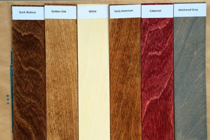 Морилка по дереву - цветовая гамма: обзор разновидностей морилок по составу и цвету, способы изготовления своими руками