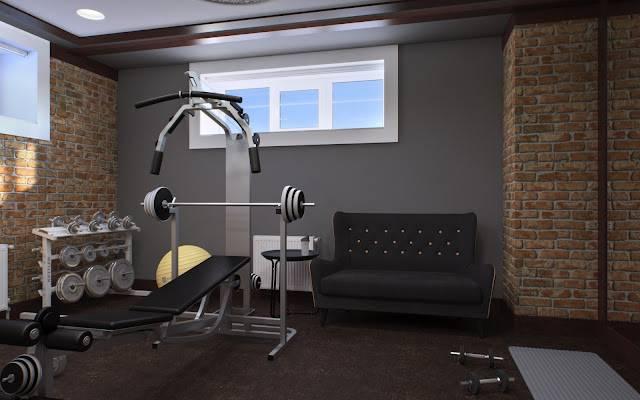Домашний спортзал: как оборудовать тренировочный комплекс в частном доме