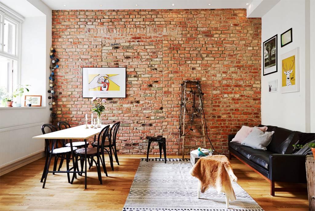 Кирпичная стена в интерьере кухни - варианты расположения отделки кирпичная стена в интерьере кухни - варианты расположения отделки