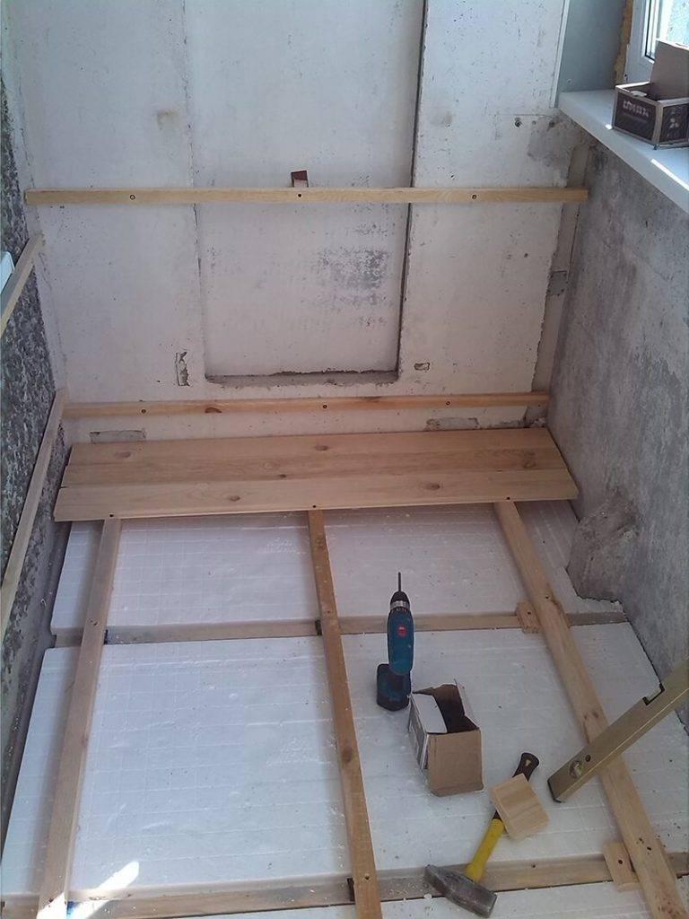 Какое напольное покрытие выбрать для отделки балкона