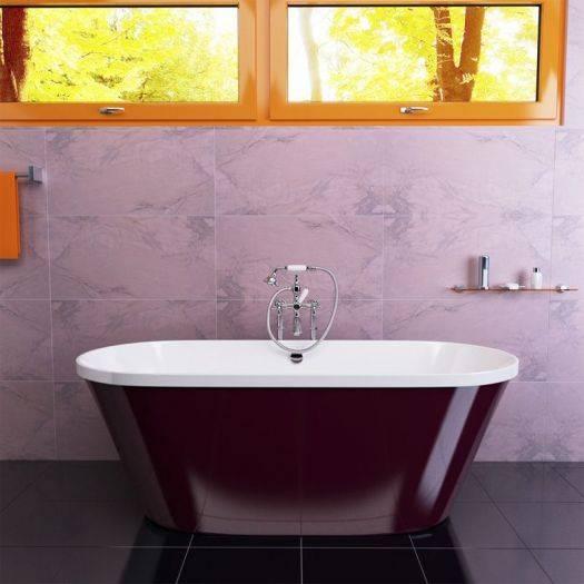 Какую цветную ванну выбрать — в желтых тонах или цвете морской волны??