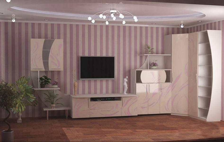 Современные стенки в гостиную (200 фото): все варианты дизайна и размещения в интерьере