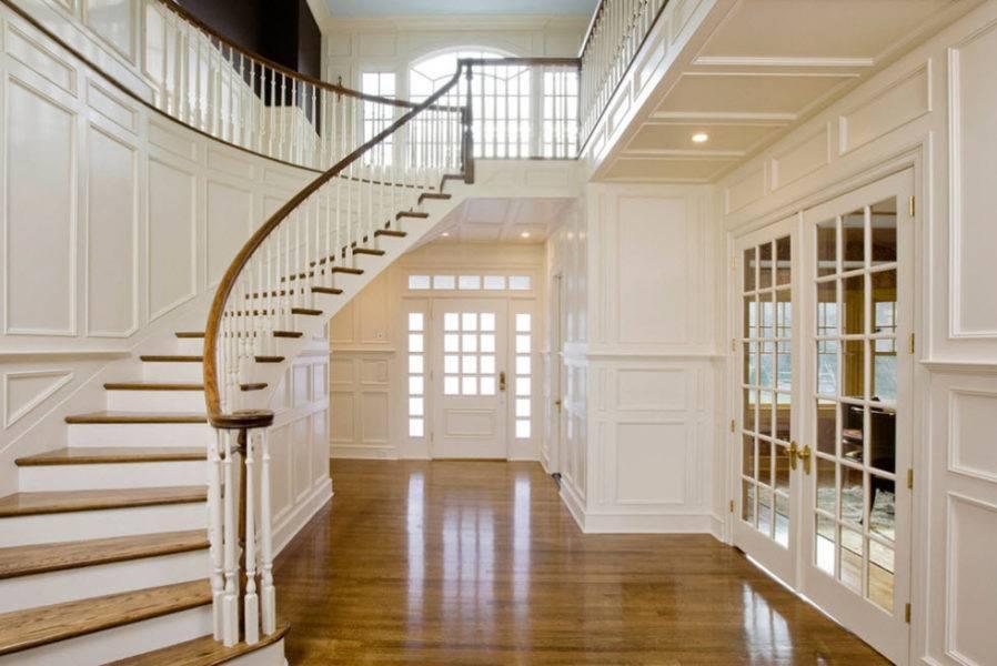 Перила для лестниц: 105 фото вариантов современного дизайна