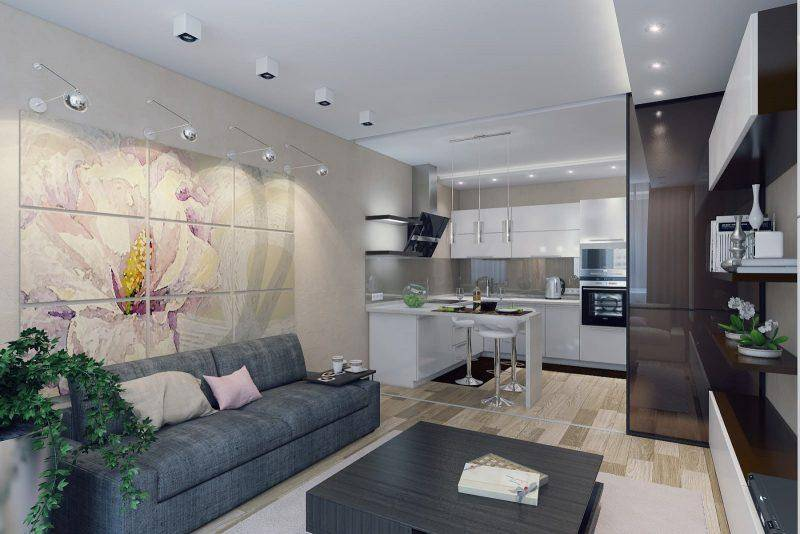 Дизайн гостиной 17 кв.м. (85 фото) - красивые интерьеры, идеи ремонта, отделки и оформления