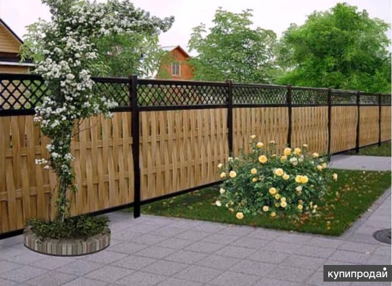 Дешевый забор для дачи – оригинальные ограды из дерева, металла и подручных материалов