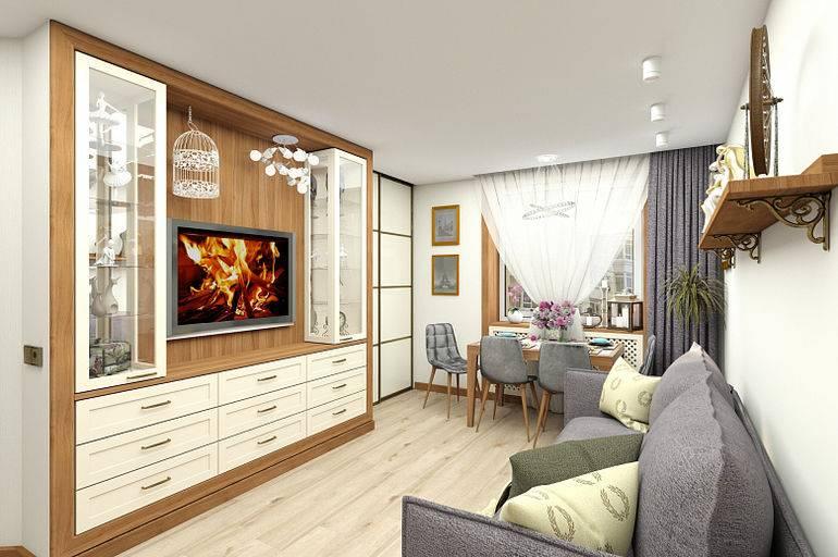 Кухня совмещенная с гостиной в хрущевке: 50+ фото дизайна и декора