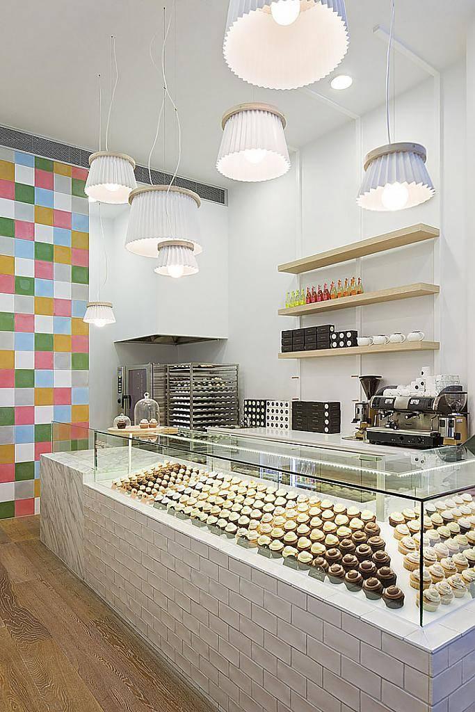 Пекарни дизайн интерьера. визуальное зонирование пространства в оригинальном дизайне пекарни