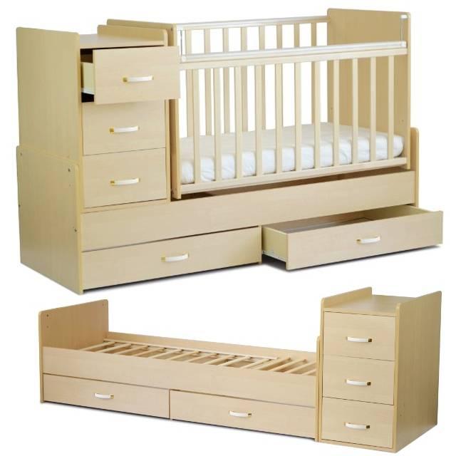 Детские кроватки-маятники: что это такое, виды маятников, особенности. детская кровать с маятниковым механизмом: продольным, поперечным и ун