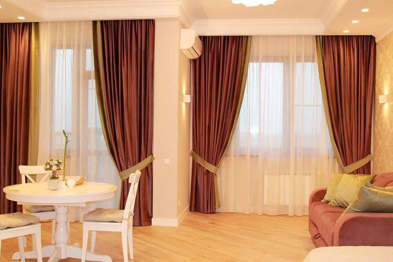 Новинки штор для гостиной 2020 года: стили, формы и новые идеи штор. шторы в гостиную, совмещенную с кухней. цвета, размеры и трендовые принты (180 фото + видео)