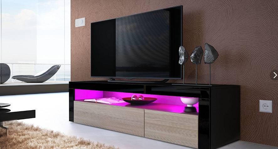 Тумба под телевизор: фото новинок дизайна и удачного размещения
