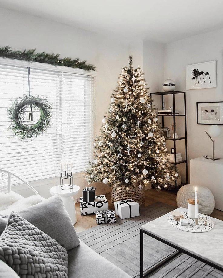 Украшаем квартиру к новому году 2021 — 100 фото новогоднего интерьера