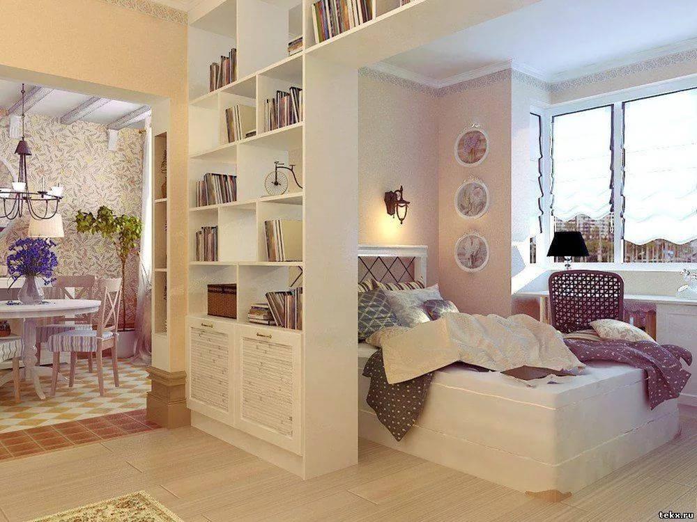 22 фото как разделить гостиную и спальню в одной комнате