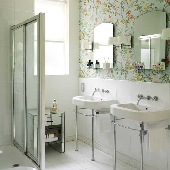 Ванная без плитки – альтернативные варианты отделки: 10 идей для стен и 6 – для пола