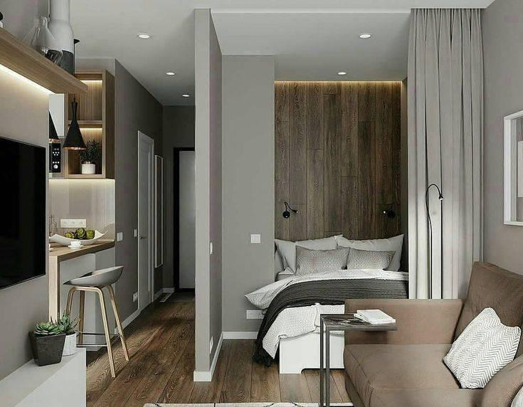 Дизайн однокомнатной квартиры площадью 30 кв. м в современном стиле (40 фото): создаем стильный интерьер в «хрущевке», проект квартиры-студии для семьи с ребенком