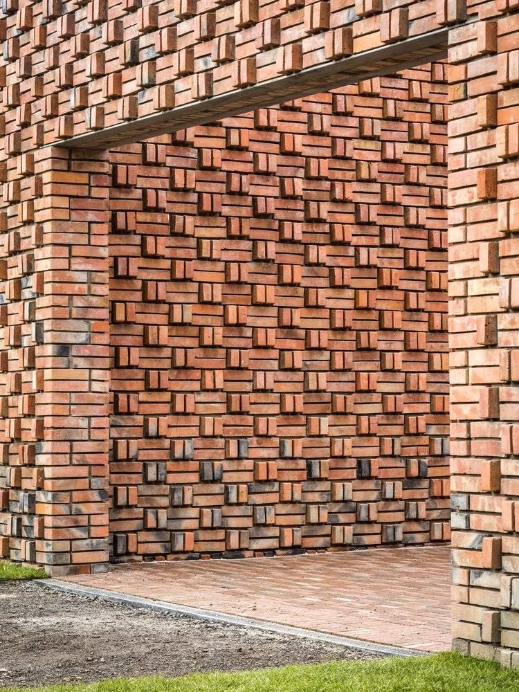 Кладка стен облицовочным кирпичом: особенности процесса