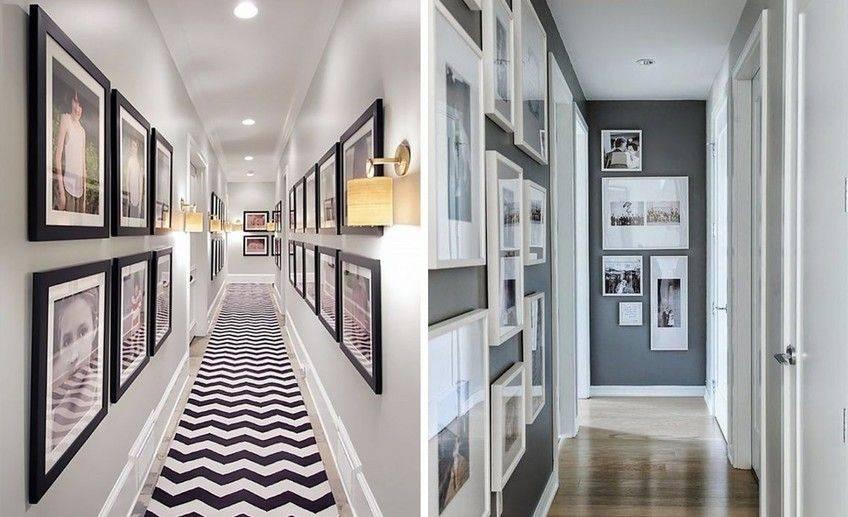 Как оформить длинный коридор в квартире: варианты дизайна