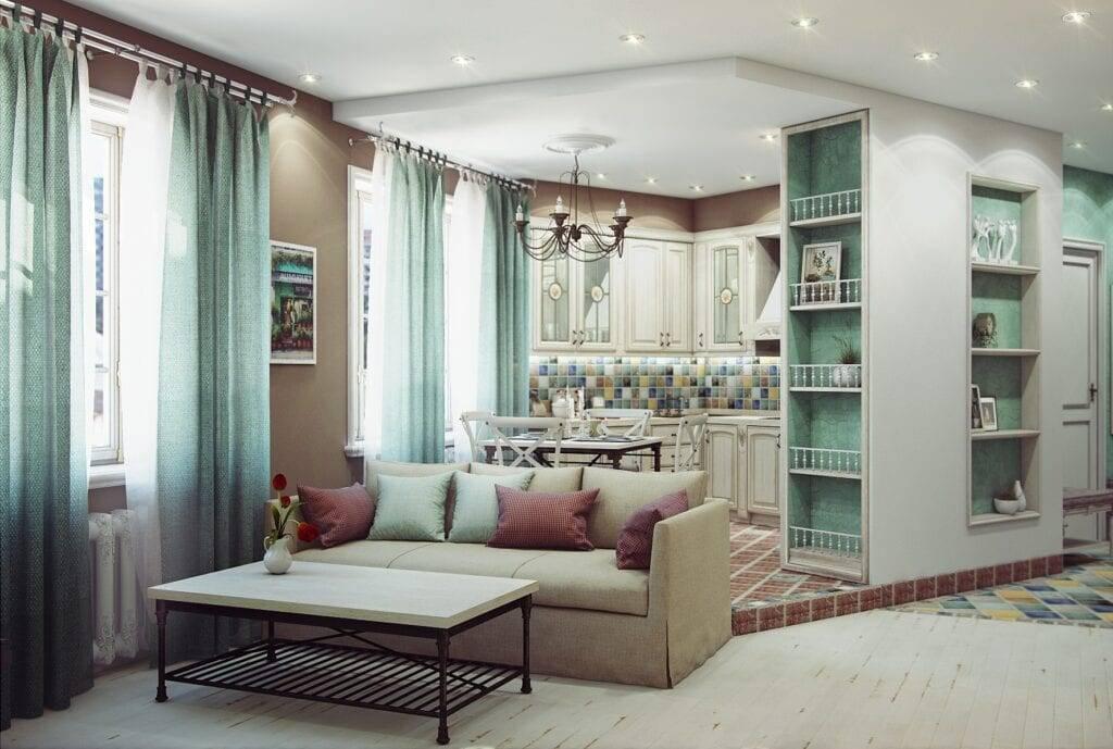 Однокомнатная квартира в различных стилях (50 фото): идеи для ремонта в направлениях прованс и минимализм, стильный дизайн от ikea