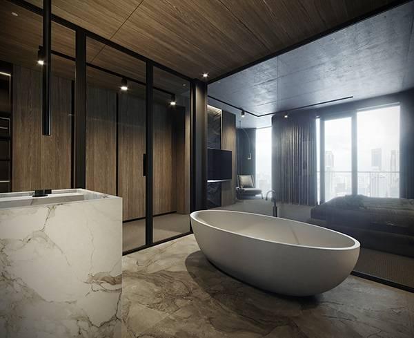 Дизайн ванной комнаты 2021 - современные идеи и тренды (фото)