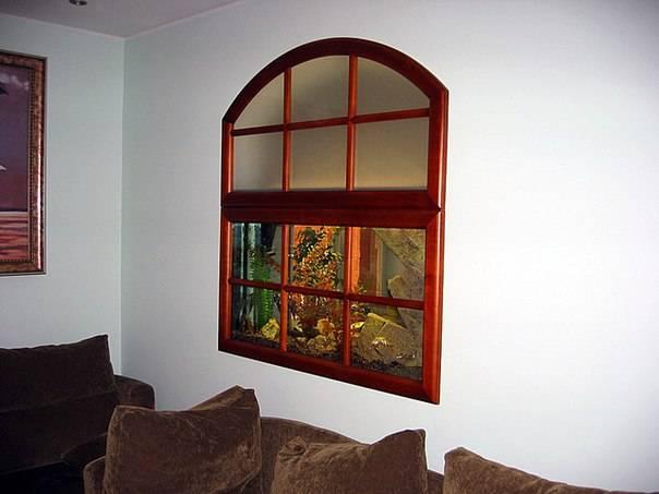Фальш-окна в интерьере   домфронт