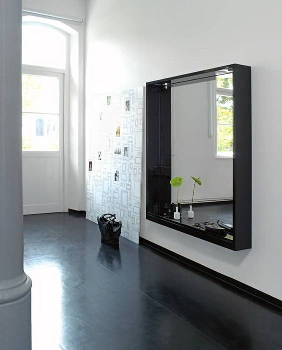 Зеркальные панно на стену: 24 идеи для интерьеров