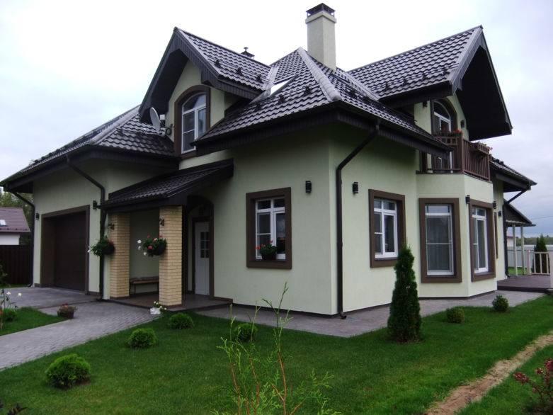 Фасад дома: 50 фото красивых фасадов в отделке частных домов